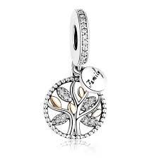 pandora bracelet charm family tree