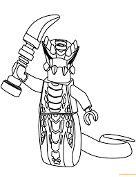 Acidicus from Lego Ninjago Coloring Page - Free Coloring Pages Online