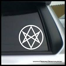 Men Of Letters Symbol Small Vinyl Decal Supernatural Sam Dean Winchester Brothers Idjit Bitch Jerk