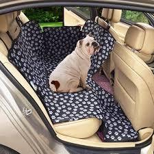 cat claws pattern car rear back seat