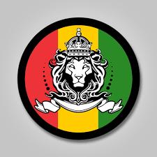 Lion Of Judah Sticker Vinyl Decal Rasta Jah Jamaica Reggaae 420 Dread Bob Marley