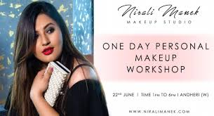 one day makeup course with celebrity