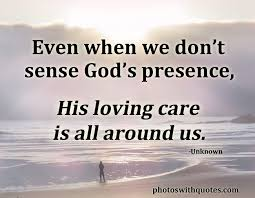 gods presence all inspiration quotes