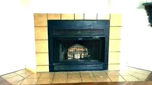 black tile fireplace ink co