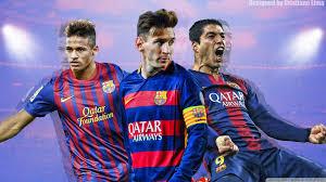 barcelona trio messi suarez and