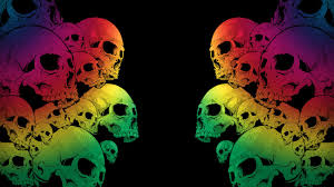 skull backgrounds group 77