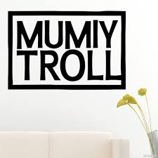 Decal Mumiy Troll Russian Rock Band Logo Buy Vinyl Decals For Car Or Interior Decal Factory Stickerpro Different Colors And Sizes Is Avalable Free World Wide Delivery