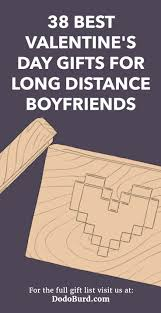 day gifts for long distance boyfriends