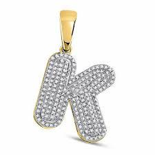 10kt yellow gold mens round diamond
