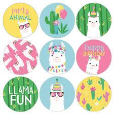 Llama Birthday Party Stickers 180 Stickers En 2020 Con Imagenes Tarjetas De Felicitacion Cumpleanos Imprimibles Para Fiestas Gratis Decoracion Fiesta De Nina