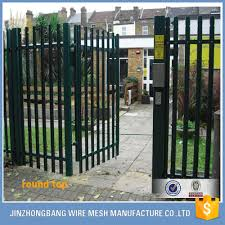 Power Coated Tubular Steel Wrought Iron Fence Modern Used Palisade Fence For Sale Buy 4x4 Galvanized Square Metal Fence Posts Decorative Wrought Iron Fence Wrought Iron Fence Designs Product On Alibaba Com