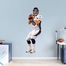 Fathead Nfl Denver Broncos Peyton Manning Wall Decal Blue Nfl Denver Broncos Denver Broncos Denver Broncos Peyton Manning