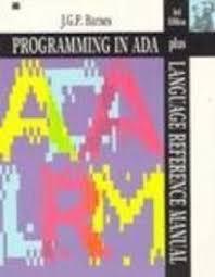 john barnes - programming ada - AbeBooks