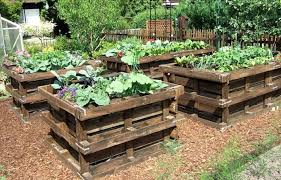 pallet raised garden beds 20