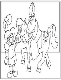 Sinterklaas Kleurplaat Sinterklaas Sinter Klaas Kleuren