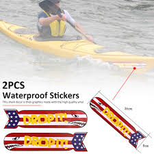 2 Pcs Waterproof Shark Teeth Decal Stickers For Kayak Canoe Dinghy Boat Car Walmart Com Walmart Com
