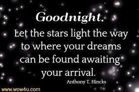 good night quotes inspirational words of wisdom