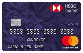 premier credit card hsbc bh