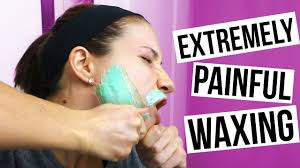 waxing my face my secret trick to