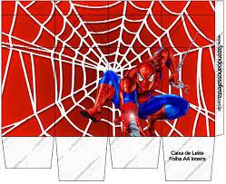 Imprimibles De Spiderman Cumpleanos Hombre Arana Spiderman