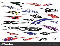 ᐈ Decal Stock Vectors Royalty Free Car Sticker Design Sample Images Download On Depositphotos