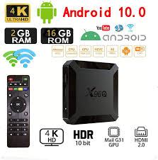 Amazon.com: Android 10.0 TV Box,X96 Mini Upgraded Version X96Q 2GB RAM 16GB  ROM Allwinner H313 Quad Core Support 4K 3D Set Top Box X96 Mini WiFi Home  Media Player: Electronics