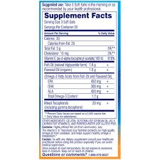 90 ct eye nutrition omega 3 softgels