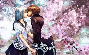 73 cute anime couple wallpaper on