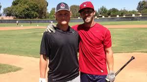 Baseball: Pat Valaika, Steve Susdorf return to alma mater - Los ...