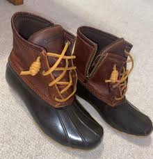 sperry top siders leather ankle boots