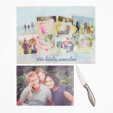 photo cutting board personalized glass