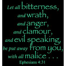 Ephesians 4 31 Let All Bitterness And Wrath Anda Vinyl Decal Sticker Quote Medium Mint Walmart Com Walmart Com