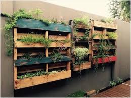 diy easy vertical pallet planters ideas