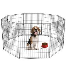 30 H Dog Playpen Black 8 Panel Walmart Com Walmart Com