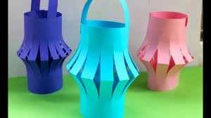 How To Make A Chinese Paper Lantern Fun Kids Activities Youtube