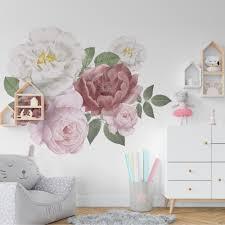 Peony Flowers Peel And Stick Wall Sticker Deaclideas Wall Decals