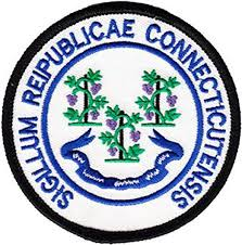 Amazon.com: Connecticut - 3 in Round State Seal Patch: Clothing