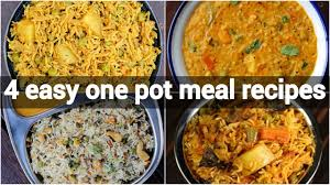 4 one pot meal indian recipes healthy