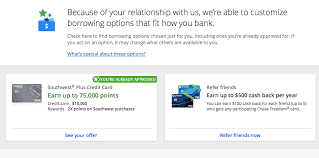 chase sending targeted offers that help