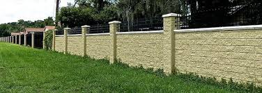 Security Fence Panels Stonetree Concrete Fence Systems