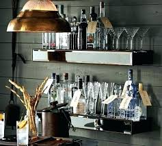 bar mirror with shelf picture of home