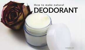 homemade natural deodorant cream