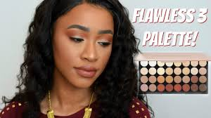 flawless 3 palette swatches tutorial