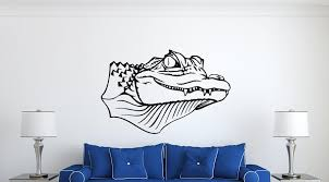 Alligator Wall Decal Vinyl Decals Nuovocreations Com Nuovocreations