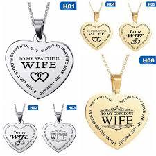 necklace jewelry to my gorgeous wife