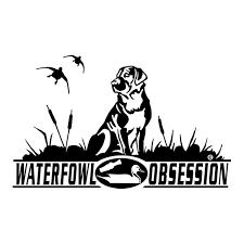 Waterfowl Obsession Labrador Waterfowl Window Decal
