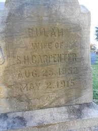 Beulah Smith Carpenter (1852-1915) - Find A Grave Memorial