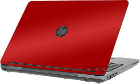 Red Vinyl Lid Skin Cover Decal Fits Hp Probook 655 G1 Laptop For Sale Online Ebay