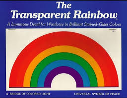 The Transparent Rainbow Decal I Had This In The Back Of My Car Window Thanks For Finding This My Childhood Memories Childhood Memories Rainbow Decal