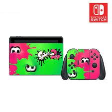Splatoon 2 Vinyl Skin Sticker Set For Nintendo Switch Etsy